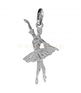Ciondolo in Argento Ballerina